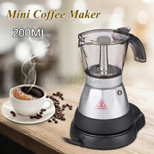 Máquina Espresso Cappuccino cafetera eléctrica Cafetera De Filtro Olla Cocina 4