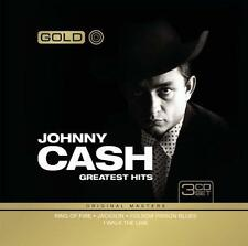 Johnny Cash Greatest Hits 3 CD Set Gold Original Masters Tin Case Limited ED