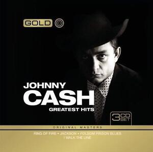 Johnny Cash Greatest Hits 3 CD Set Gold Original Masters Tin Case Limited ED