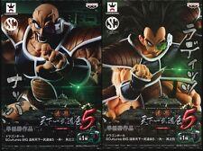 NEW Dragon Ball SCultures BIG #3 & 4 RADITZ & NAPPA Set Figure Banpresto
