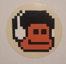 Lucy Mclauchlan Vintage Headphone Boy Sticker