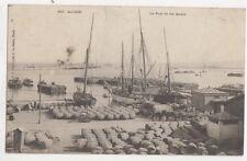 Alger Port & Les Quais Algeria Vintage Postcard US050