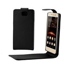 CUSTODIA COVER CASE FINTA PELLE PER SMARTPHONE Huawei Y5 II / Y5II HWE-01