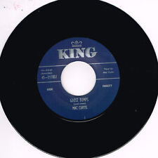 MAC CURTIS - GOOSE BUMPS / WHAT YOU WANT (Hot 1950s ROCKABILLY) (New Repro)