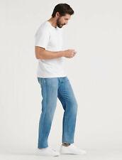 Lucky Brand 221 Men's Straight Soft Lightweight Linen Denim Jeans NEW 36x32