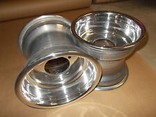 2) 8X8 Rims Wheels Rear 4/110 Suzuki LTR-450 Quad Racer