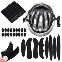 27Pcs Helmet Padding Kit Sponge Pad Bike Motorcycle Bicycle Replacement Pads Set