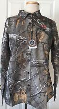 $80 NWT Womens Under Armour 1253209 Performance Long Sleeve Hunting Shirt Camo M