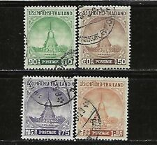 Thailand.#316-19 (Cpl Set).Used.1956.Scv $8.00