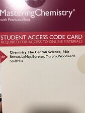 MasteringChemistry: The Central Science (14th Edition)