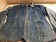 Lee 91-j 50s housemark vtg denim jacket large