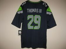 Nike Earl Thomas Seattle Seahawks Blue Onfield Game Jersey Mens 2xl 6db035684
