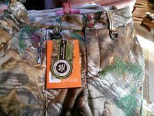 Ladies M Field&Stream Polyester Lined Hunting Hydro Pants NEW elastic waist belt