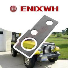 Driver Power steer Box Rust Repair Frame Plate 86 95 Jeep Wrangler YJ LH