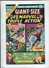 Giant Size Marvel Triple Action #2 ~ Avengers, DareDevil, Thor! ~ (Grade 6.0)WH