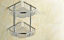 Bathroom Accessories Chrome Shower Caddy Wire Basket Storage Shelves Pba525