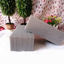 1Pc Grey Floral Florist Foam Brick Block Dry Flower Bouquet Holder Oasis Craft