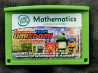 Leapfrog Team Umizoomi Mathematics Game Leap Pad 2,3, XDi Ultra LeapPad leappad