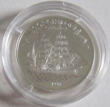 Somalia 5000 Shillings 1998 Schiffe Gorch Fock Silber