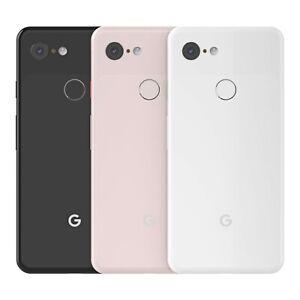 "Google Pixel 3 128GB  5.5"" 4G LTE Smartphone Factory Unlocked Brand New"