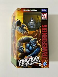 Transformers Kingdom Voyager - War For Cybertron - Optimus Primal (NEW IN HAND!)