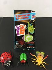 Bug Insect Valentines Gel Clings 16 Count 3D Plastic Bugs Set NWT Nature Fun New