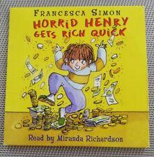 Fürchterliche Henry Hörbuch CD. fürchterliche Henry Gets Rich Quick. TOP Zustand.