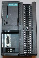 SIEMENS S7-300 CPU312C SIMATIC PLC 6ES7 312-5BE03-0AB0 CPU - MISSING FRONT DOORS
