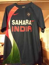 Nike India Cricket National Team Jersey Blue Orange Sahara Adult Small (S) NWOT