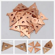 50Pcs Dent Pulling Triangles/Straight /Twisted /Star/ Washer Kit Welds Ring Pads