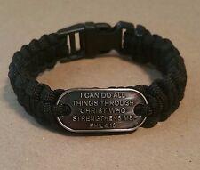 I Can Do All Things Through Christ Survivor Bracelet