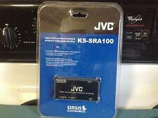 NEW SEALED JVC KS-SRA100 Sirius Satellite Radio Adapter USE WITH YOUR SCC1