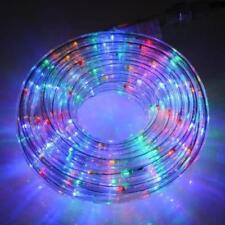 LED Lichtschlauch 10 m bunt Innen Außen Lichterkette Lichtleiste Beleuchtung
