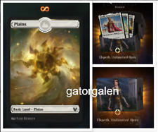 MTG Arena Theros Beyond Death ELSPETH Deck CODE Only Full Art Plains Showcase