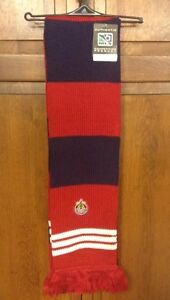 Adidas MLS C.D. Chivas USA Coaches Scarf Striped Jacquard Competition NWT S203Z
