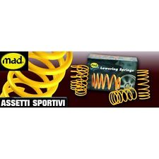 KIT 4 molle assetto MAD PER FIAT UNO 1.3 TURBO,1.5 D,1.7D ABBASSAMENTO 35/40 MM