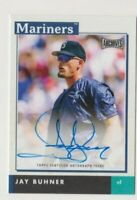 2020 Topps Archives Snapshots Jay Buhner On Card Auto AS-JB MARINERS