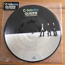 """Queen - C- Lebrity 7"""" Picture Disc Vinyl"""