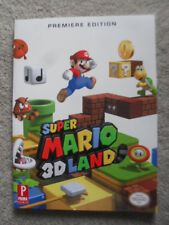 Super Mario 3D Land Premiere Edition Prima Official Game Guide Book & Map