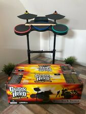Jeu Band Hero Guitar Hero Batterie Guitare Pour SONY Playstation 3 PS3