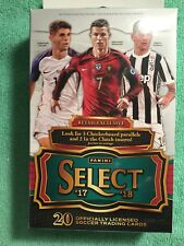 2017 ,18 PANINI SELECT SOCCER RETAIL EXCLUSIBE 20 CARDS PER BOX