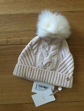NEW WITH TAGS  Ted Baker Lisabet Cable Knitted Hat with Pom Pom 72e631448bb