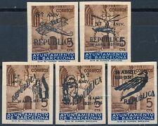 España - No emitidos- Año: 1936 - numero 00017/21 - ** V Aniversario República B
