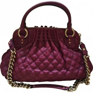 Marc Jacobs Cecilia Quilted Bag Fuchsia Pink NEW
