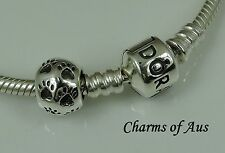 925 Sterling Silver My Favourite Pet Paw charm. Excellent Christmas Gift