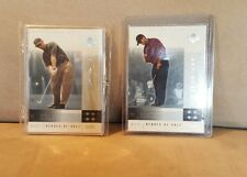 2001 Tiger Woods Rookie Upper Deck National Promo Heroes of Golf 10 card Set