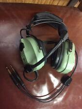 Various Headsets for sale. David Clark, Flightcom, ASA & Lightspeed. See discrip