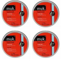 4 X MUK HARD MUK 95g Brutal Hold Low Sheen Genuine /SAME DAY POST -Aus Store