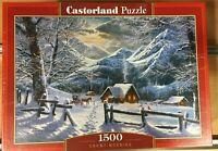 CASTORLAND PUZZLE 1500 pcs,SNOWY MORNING,REF.C-151905-2