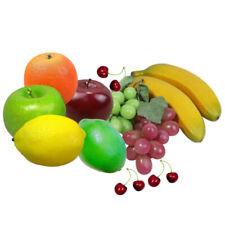 12pcs/Set Different Artificial Fruit Decorative Faux Fake Fruit Home Props Decor